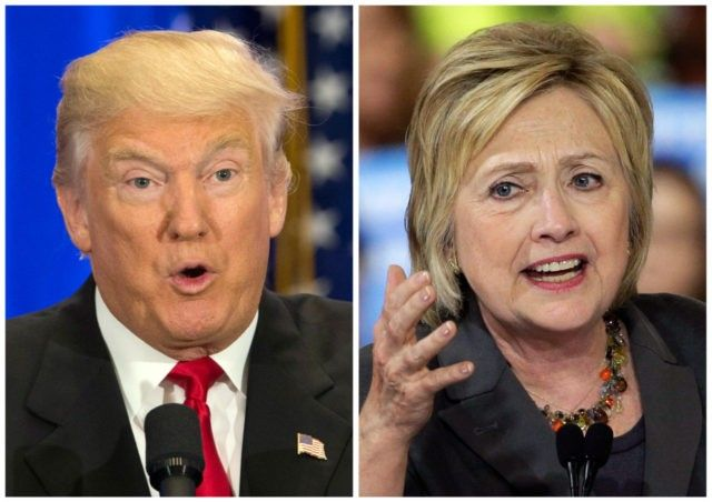 Donald Trump buys clintonKaine.com, tuns it into anti-hillary news portal.  Click through for article.