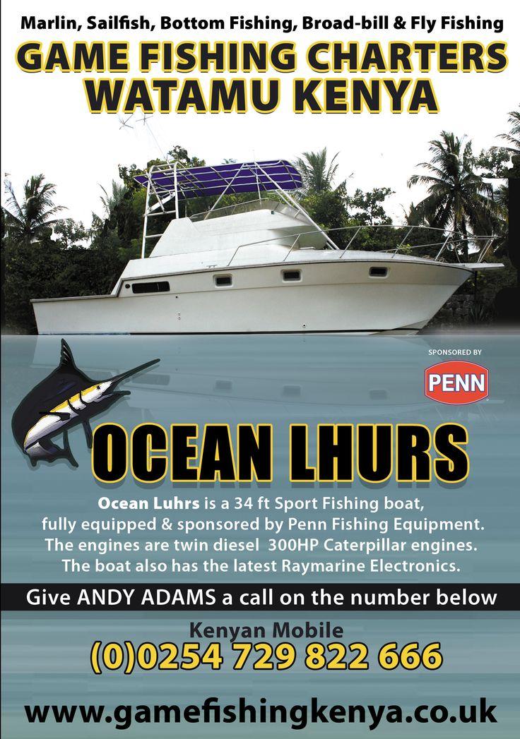 Game Fishing Kenya Leaflet