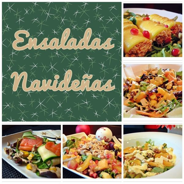 Brujita en la Cocina: Recopilatorio de Ensaladas para Navidad