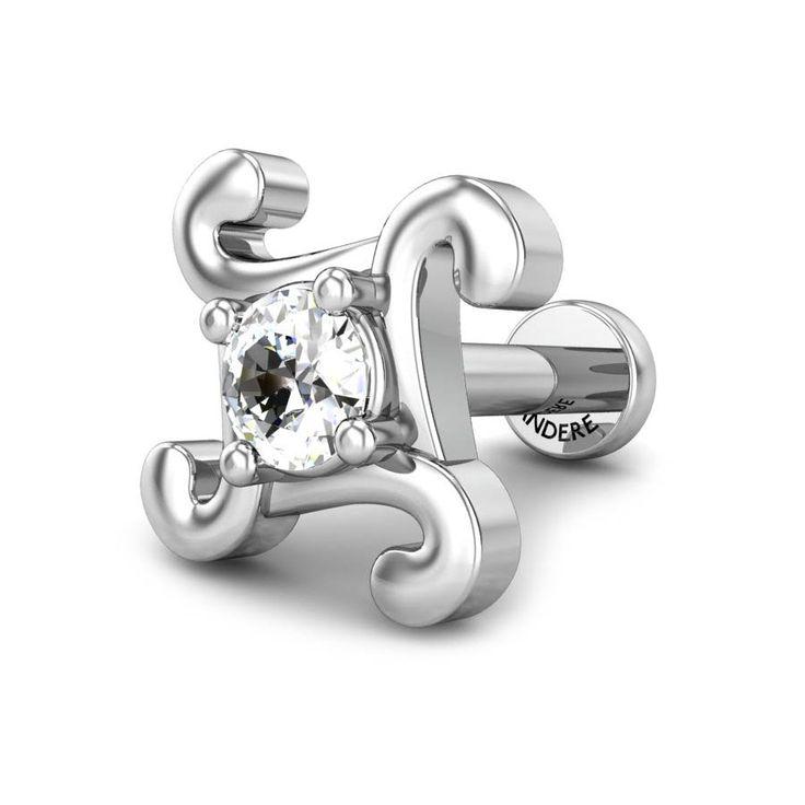 Rasya Diamond Nose Pin