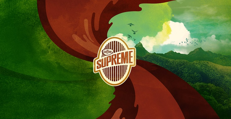 Branding for Supreme Coffee. #Resn #SupremeCoffee  http://www.resn.co.nz/#/project/cafe-blends