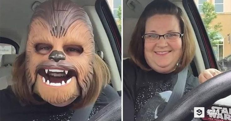 'Chewbacca Lady' Becomes Internet Famous For All The Right Reasons - 9GAG.tv