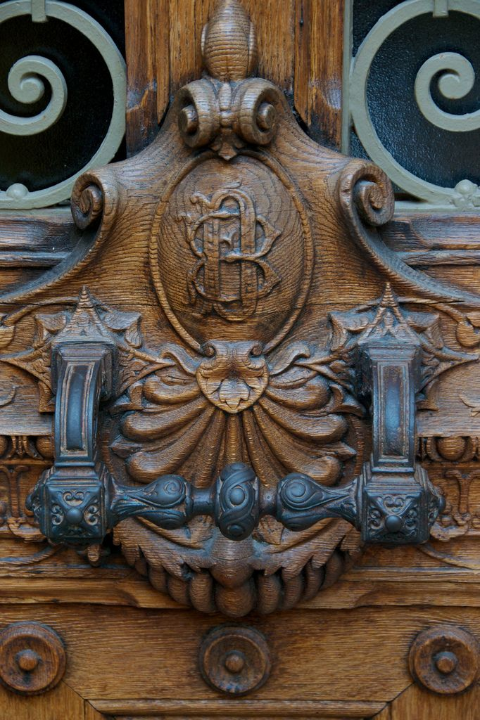 Baroque Door Handle, Honfleur, France | by Peter Cook UK