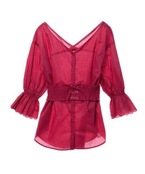 【ZOZOTOWN】w closet(ダブルクローゼット)のシャツ/ブラウス「シャーリングベルト付きVネックブラウス」(293437)をセール価格で購入できます。