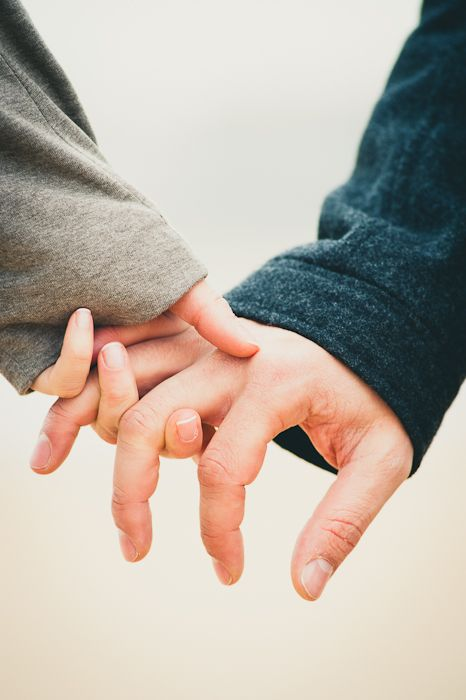 """When we hold hands, we're telling each other that we are always together. A simple gesture that says """"take my strength, courage, warmth and love"""""""