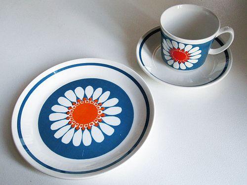 "Figgjo Porselen ""Daisy"", Norway"
