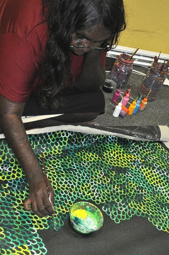Anna Price Petyarre / Yam Seed Aboriginal Art – Buy Authentic Australian Indigenous Art and Paintings