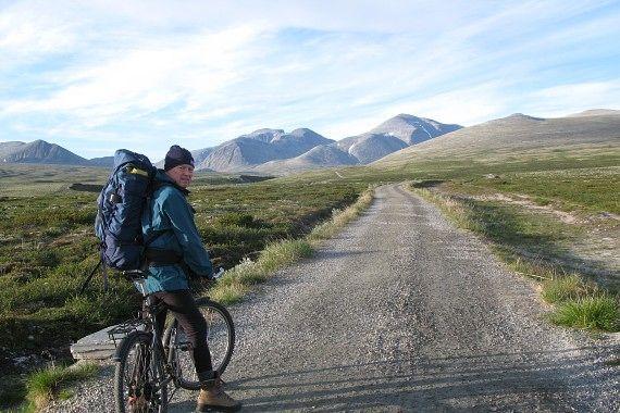 Sykkeltur fra Spranget til Rondvassbu