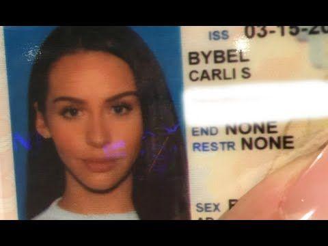 Wedding Makeup Tutorial Carli Bybel : Drivers License Photo DRUGSTORE Makeup Tutorial +Vlog ...