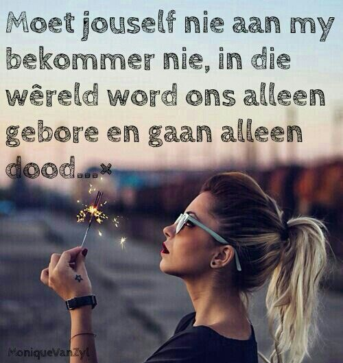 #jouself #my #steur #alleen #bly