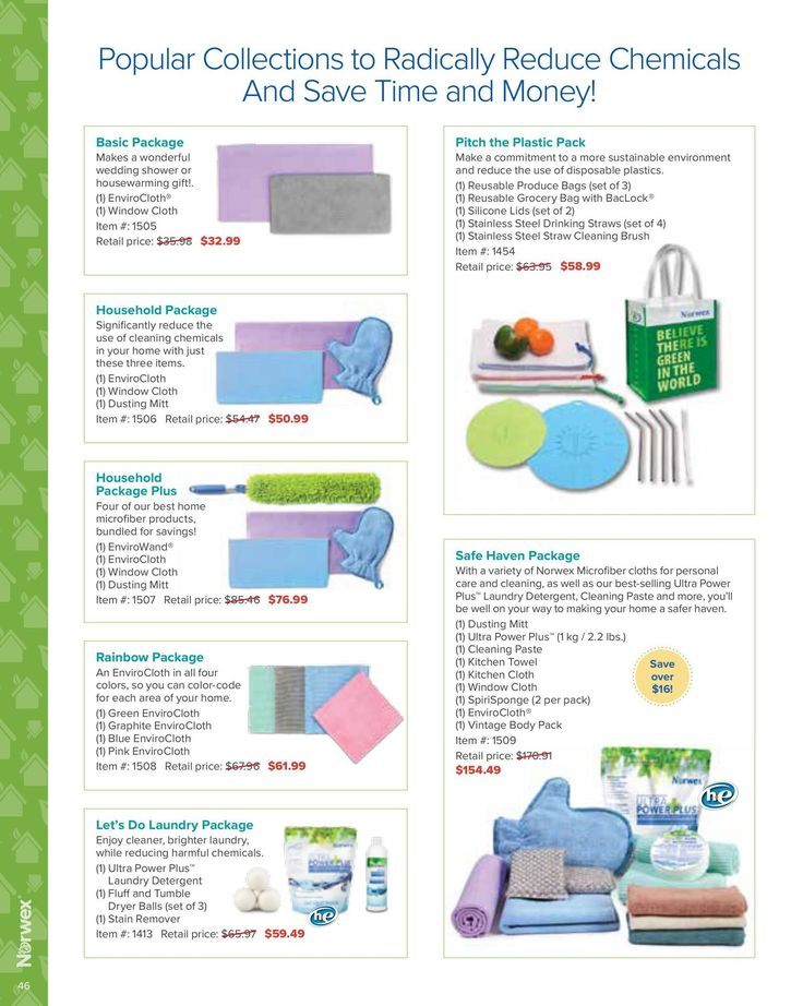 North America 2017 Product Catalog Us 2017 Norwex Product