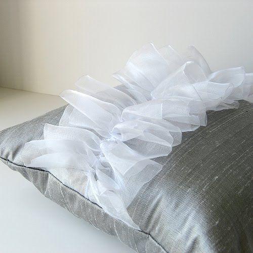 Contemporary Decorative Pillows | Modern Luxury Decorative Pillows and Bed Accessories | Interior Design ...