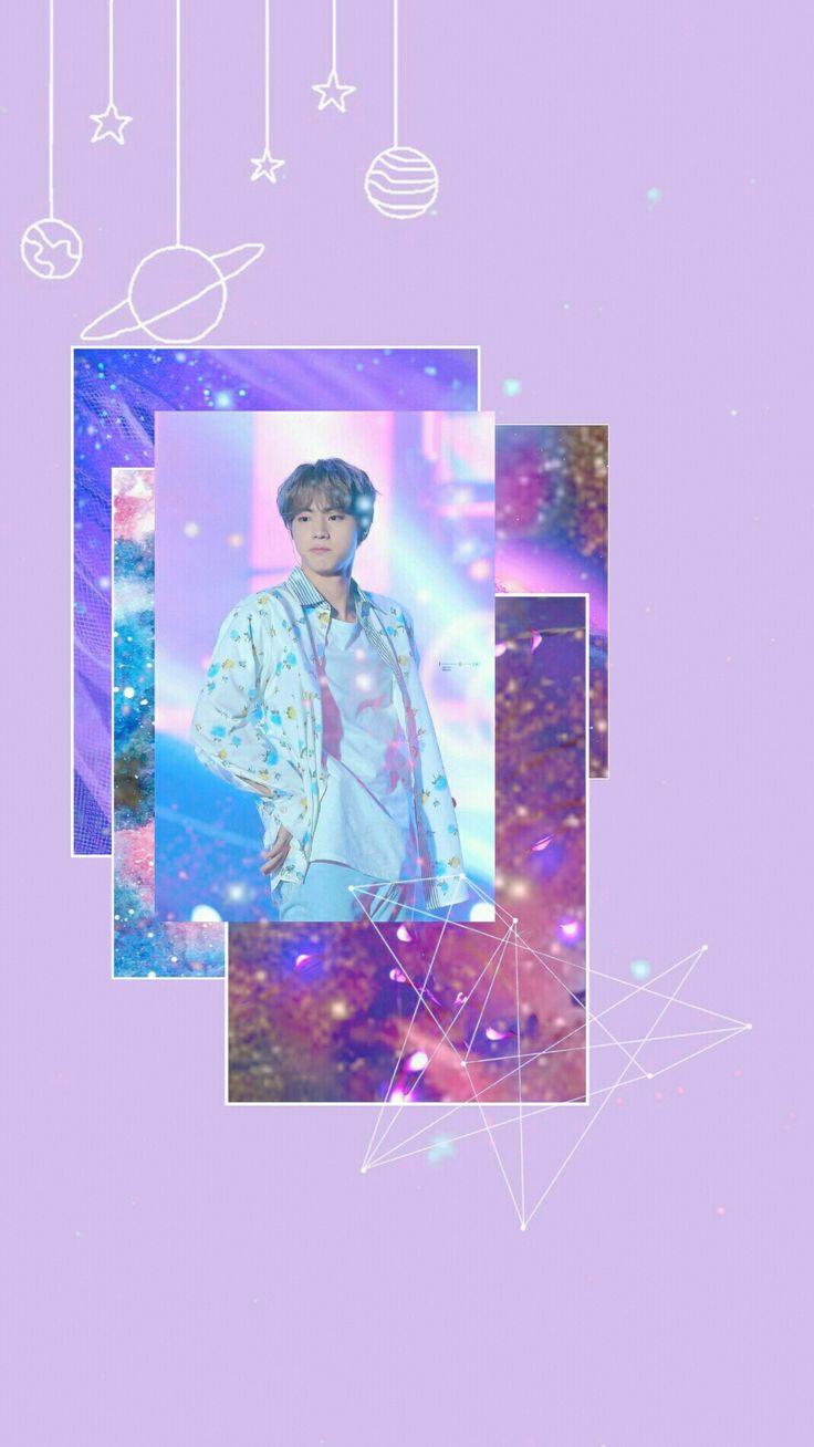 #jin #seokjin #bts #galaxy #aesthetic #army | Seokjin, Wallpaper, Poster