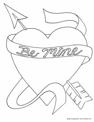 Valentine's Day Coloring Pages Printables View FULL size