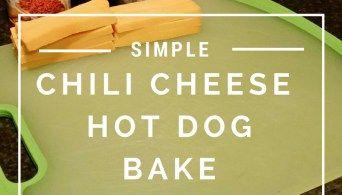Easy Chili Cheese Hot Dog Bake