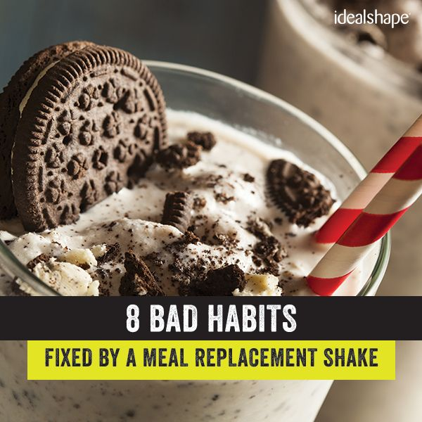 Got some bad habits when it comes to your health? You're not alone!   Here's 8️⃣ bad habits that can simply be fixed by a meal replacement shake!