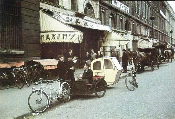 49 incroyables photographies couleur de Paris sous l'occupation allemande entre 1940 et 1944, réalisée par le photographeAndré Zucca (1897-1973). Des photo