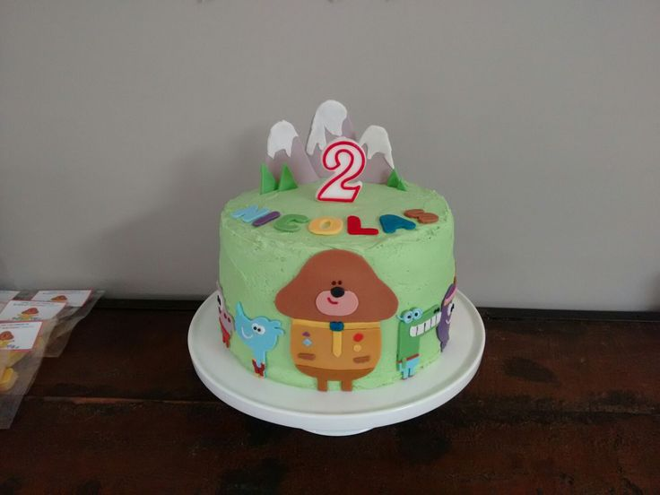 Hey Duggee Birthday Cake