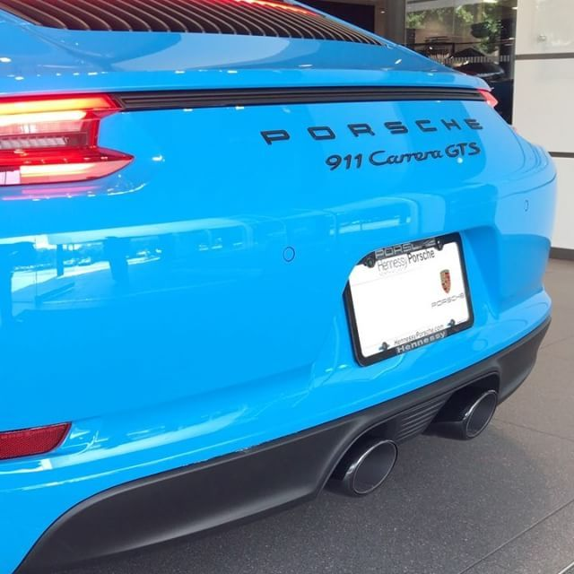 Would you rather be in #Mexico or #Miami? Today, we chose #MexicoBlue. #HennessyPorscheExclusive #HennessyPorsche #911GTS #SavetheManuals #Carswithoutlimits #Porsche #PorscheGram #Porsche911 #GT2 #GT3 #GT3RS #GT4 #GT2RS #PainttoSample #PTS #ThereIsNoSubstitute #ExperienceExcellence #918
