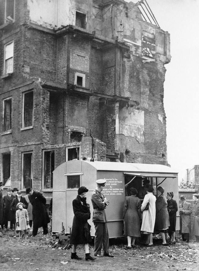 Mobile Canteens Of World War 2 1939 1945 Mesto