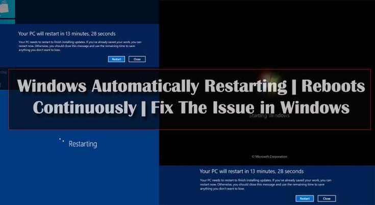 Sometimes, Windows reboots continuously, and he warns please restart your computer. There can be many underlying causes. So I am going to tell you about how to solve Windows restarts and reboots issue in Windows?