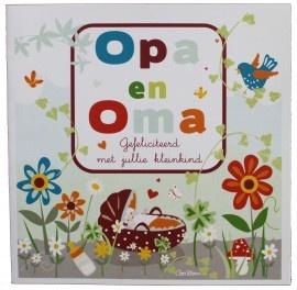 Felicitatiekaart - Opa en Oma