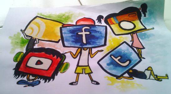 Fana Chamele: SOCIAL MEDIA CREATURES
