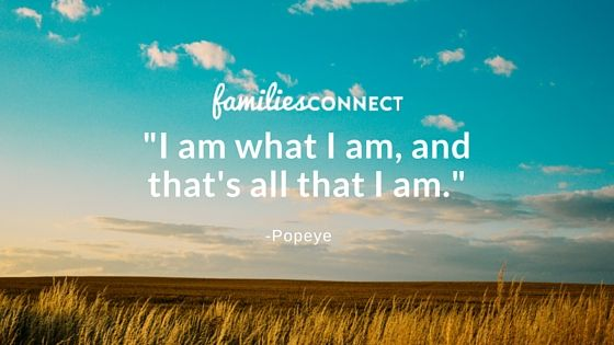 Popeye Quotes on Families Connect