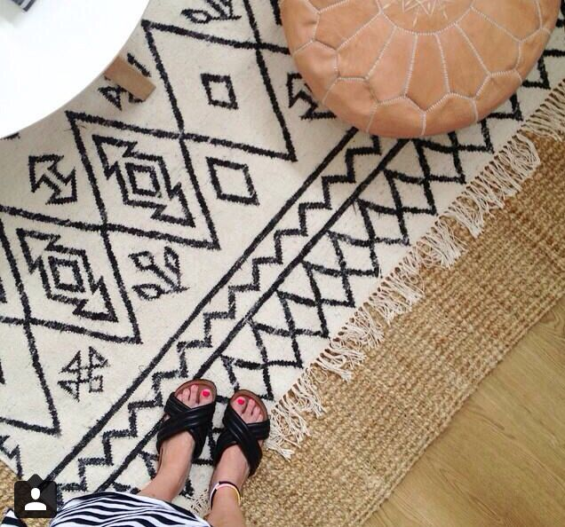 Layering Rugs!!!