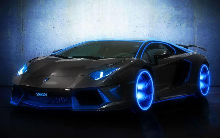 Blaue Lamborghini Tapeten von hoher Qualität