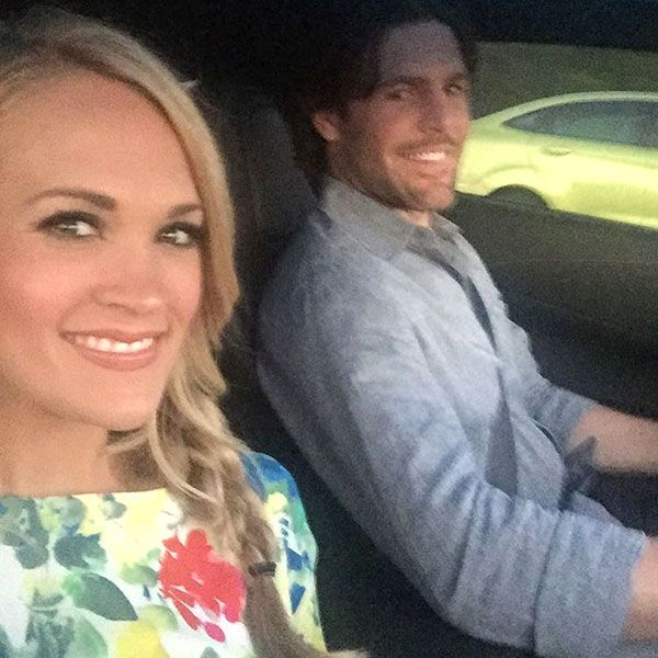 Cute! Carrie Underwood and Husband Mike Fisher Head Out for Date Night http://www.people.com/article/carrie-underwood-husband-mike-fisher-enjoy-date-night