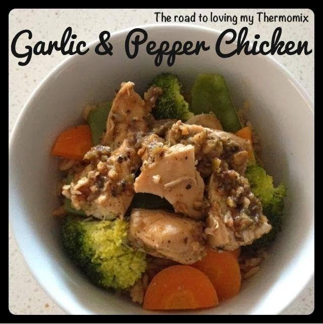 Garlic Pepper Chicken