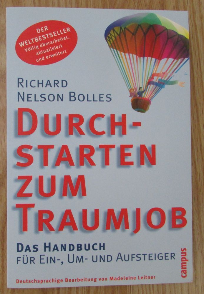 Durchstarten zum Traumjob * Richard Nelson Bolles Campus Verlag 2002
