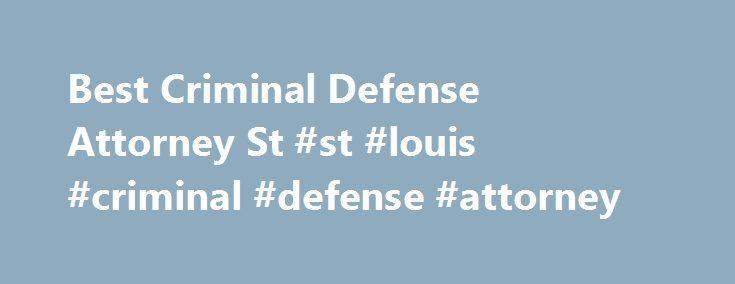 St Louis abogado criminal gay