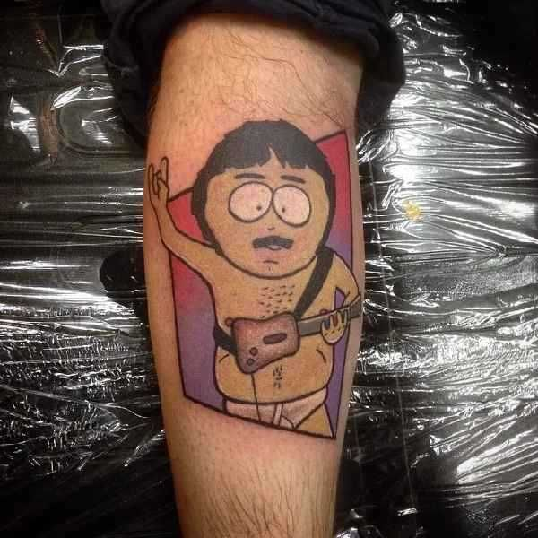 9 best 10 funky south park tattoos images on pinterest for Funky rooster tattoo and art gallery
