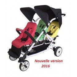 Poussette triple Multicolore Familidoo Edition 2016