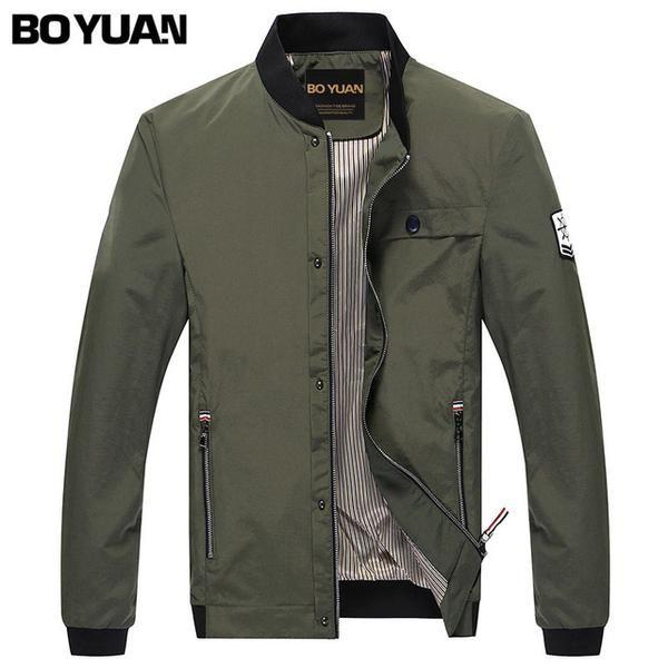 Boyuan Men Military Army Jackets Bomber Jacket Men Spring Autumn