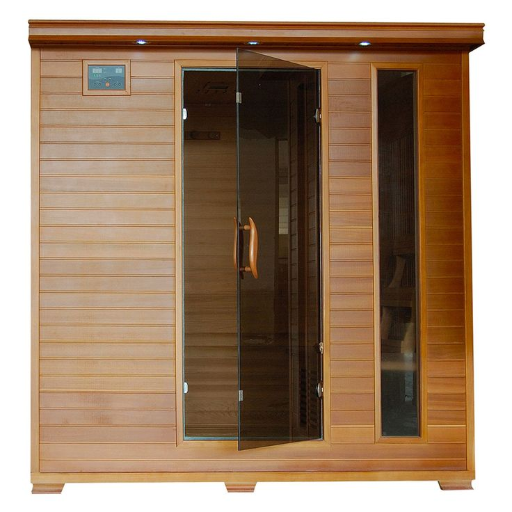 Radiant Sauna 6 Person Cedar <b>Infrared</b> Sauna - BSA1323 ...