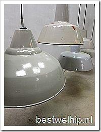 Industrial vintage lamps, lampen industrieel vintage authentiek loft