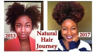 natural hair growth pictures