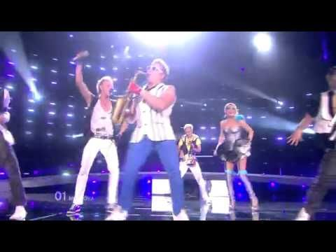 EPIC SAX GUY SOLO - Moldova -Eurovision Song Contest 2010