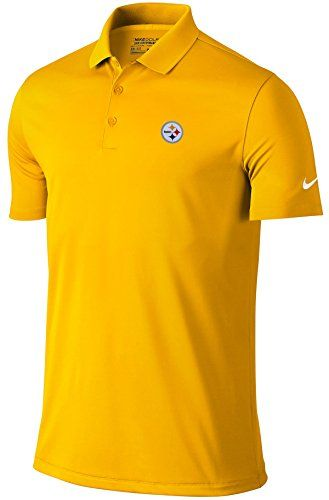 Nike NFL Pittsburgh Steelers Victory Solid Polo Medium ** Details can be found by clicking on the image.