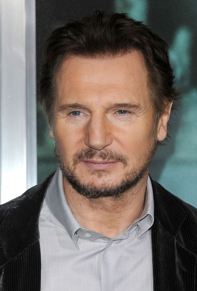 I really like Liam Neeson, his voice is just so deep, and different, and I love him as the lion from Narnia!!!