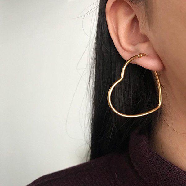 New design Dainty Earrings For Women Lady Girl Round Jewelry Stainless Steel earring