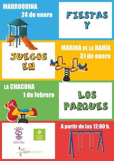Estreno de parques infantiles remodelados en La Marroquina, Marina de la Bahía y La Chacona