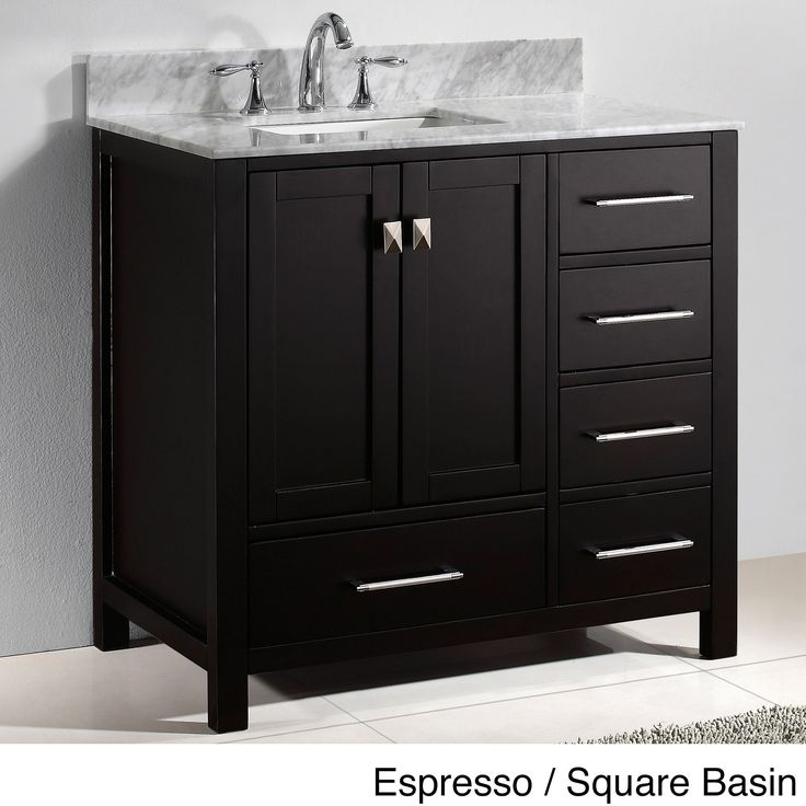 Best 25 36 inch bathroom vanity ideas on pinterest 36 for Virtu usa caroline 36 inch single sink bathroom vanity set