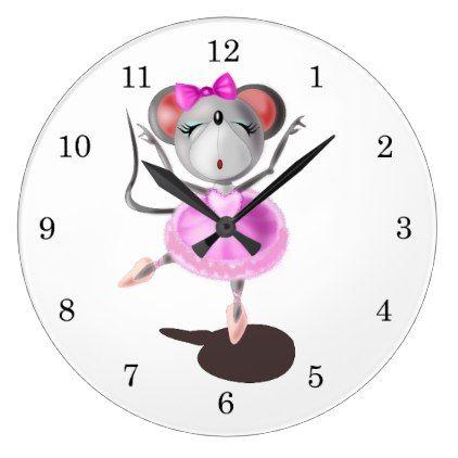 Mini 1 - Round Wall Clock - kids kid child gift idea diy personalize design