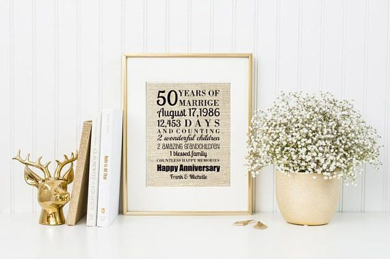 50th Anniversary Wedding Gift Ideas: Best 25+ 50th Wedding Anniversary Gift Ideas On Pinterest