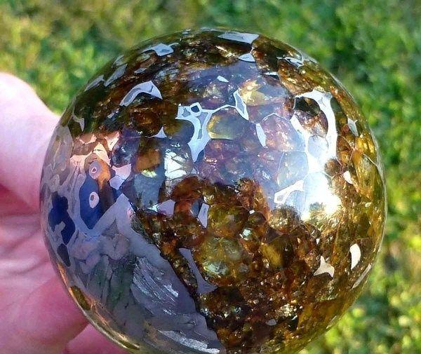 #Полированный #метеорит #красиво