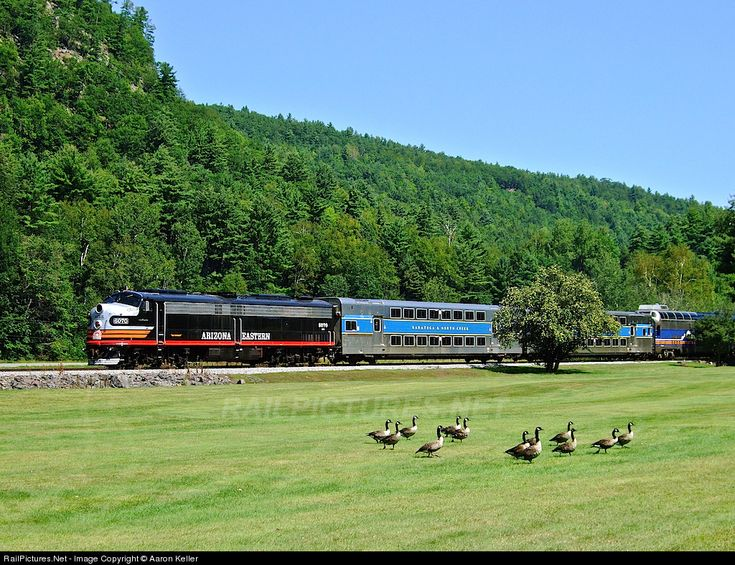 RailPictures.Net Photo: AZER 6070 Arizona Eastern Railway EMD E8(A) at Stony Creek, New York by Aaron Keller